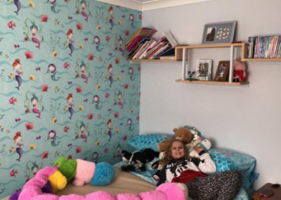 Child's bedroom decorated