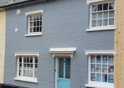 Exterior house decoration, Boxford, Suffolk