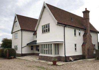 External decoration, Boxford, Suffolk