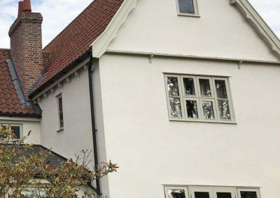 External paintwork, Boxford, Suffolk
