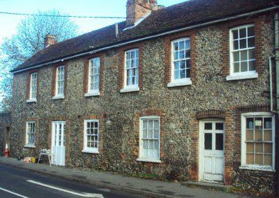 Halfway through refurbishing sash windows