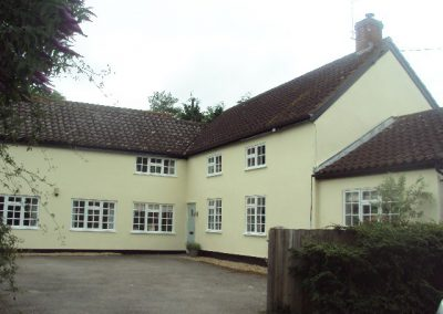 House exterior painting & decorating