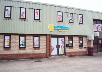 Industrial unit painting & decorating, Suffolk