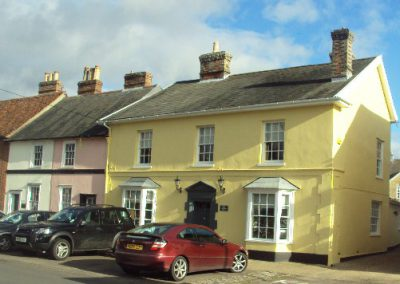 Listed property Long Melford, Suffolk