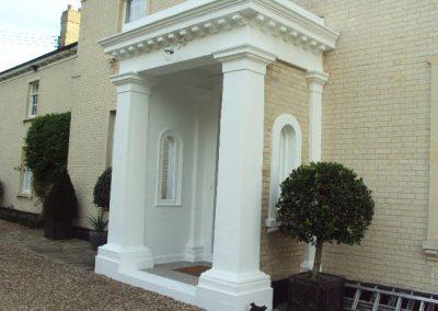 Porches, doors & doorways